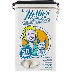 Nellie's - Laundry Nugget Tin (50 loads)