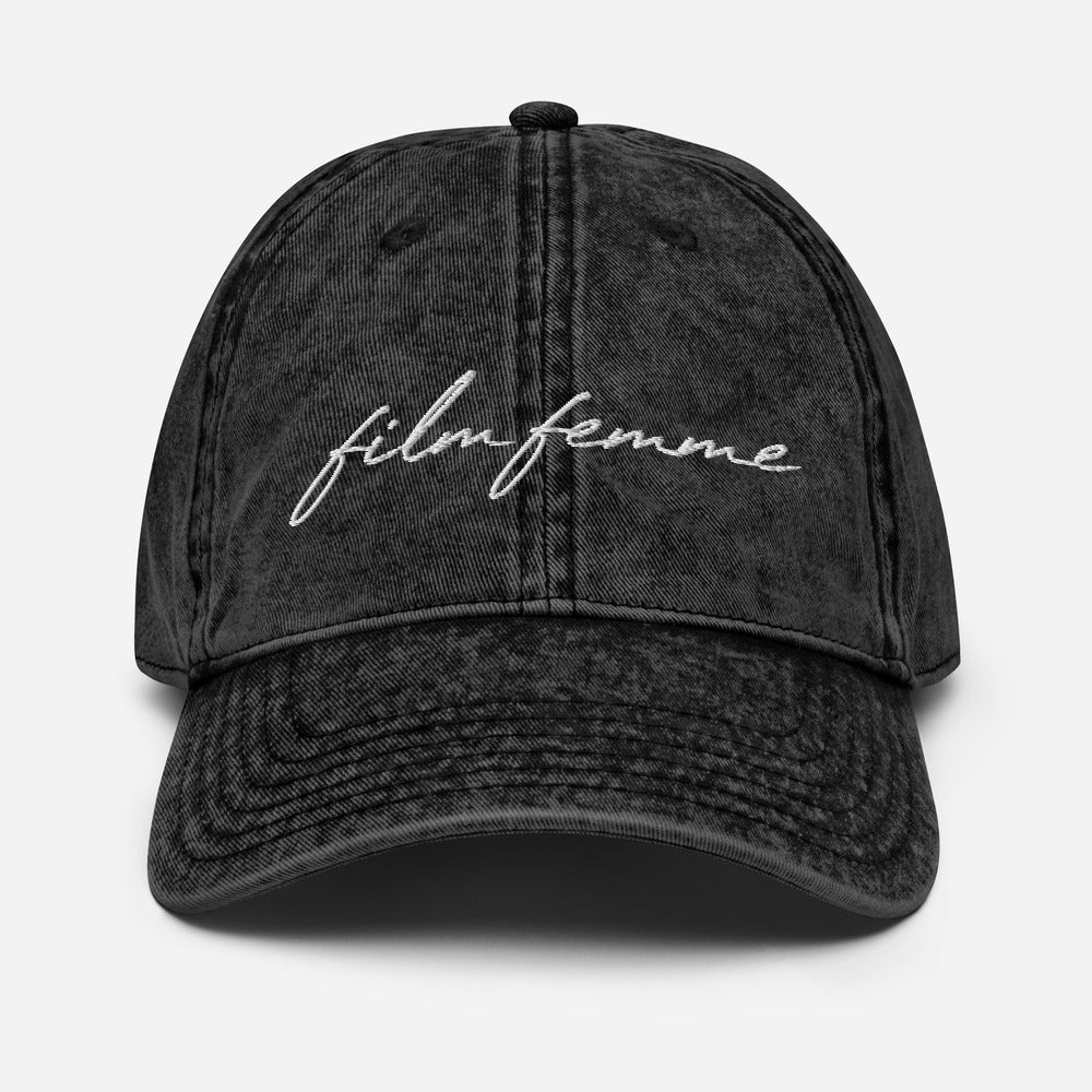 Film Femme Faded Hat
