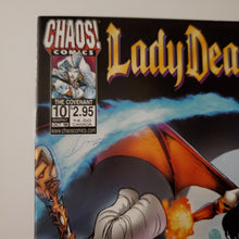 Load image into Gallery viewer, LADY DEATH  THE COVENANT 10   ART HUGHES