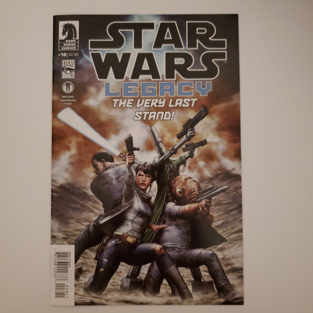 🚨☄  STAR WARS LEGACY 18. Dark Horse  THE VERY LAST STAND
