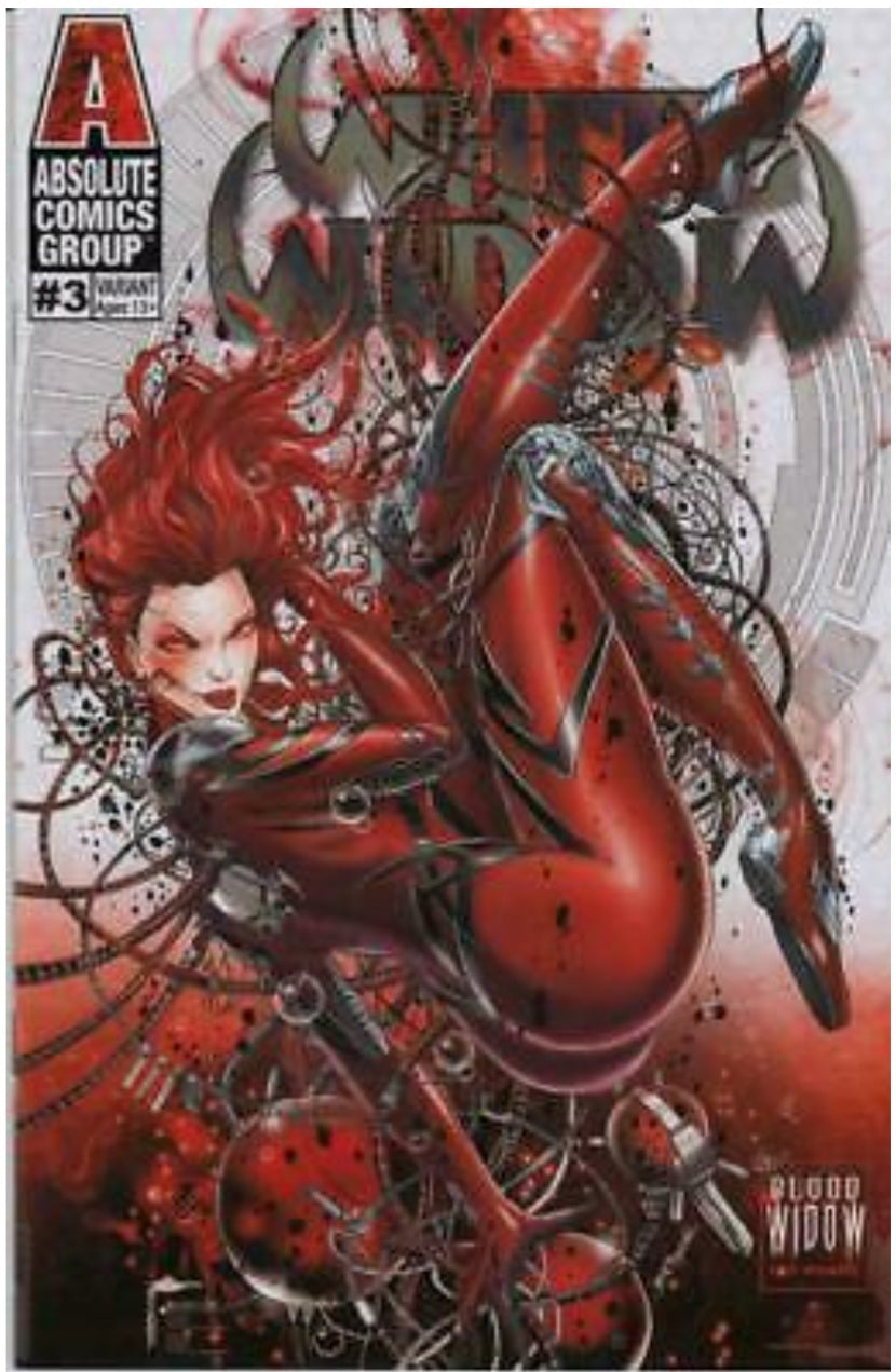 White Widow #3 Blood in the Water by Jamie Tyndall First Appearence - 48 page comic