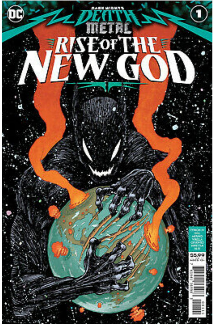 Dark Nights: Death Metal Rise Of The New Gods #1 Apperance of the Chronicler NM