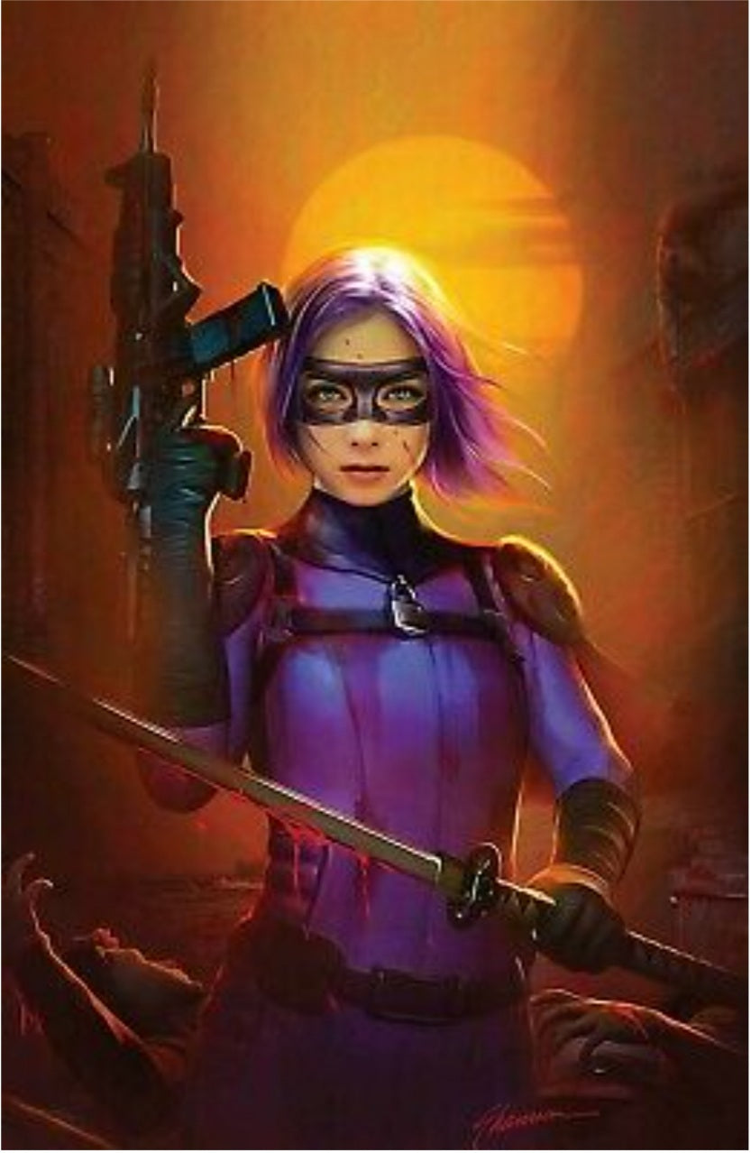 🔥🔥 KICK ASS VS HIT GIRL 1 SHANNON MAER VIRGIN VARIANT LTD TO 300 NM HOT SOLD OUT