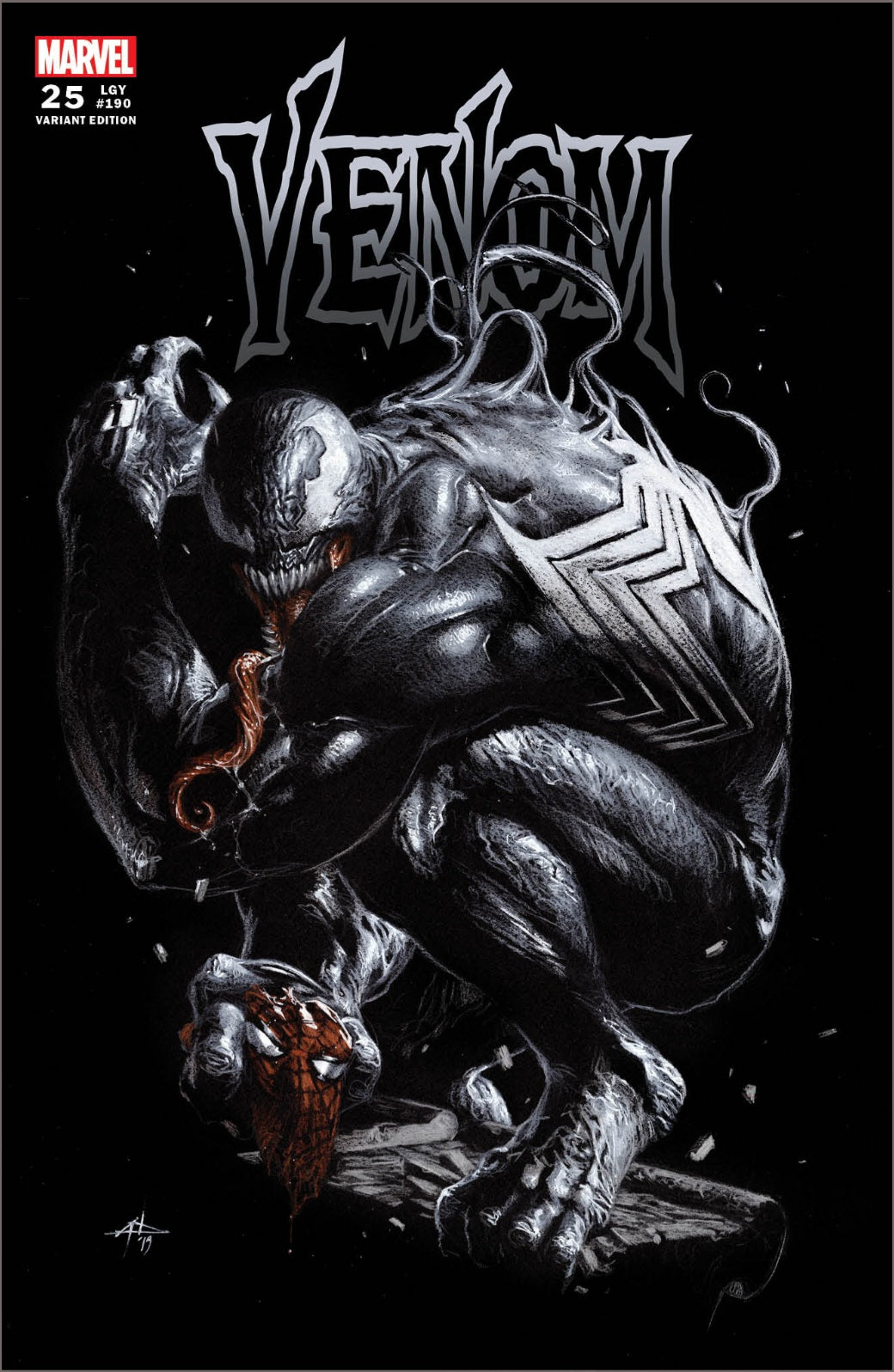 🔥🔥 VENOM 25   GABRIELE  DELL'OTTO  TRADE DRESS  LIMITED TO 2000 w/ COA