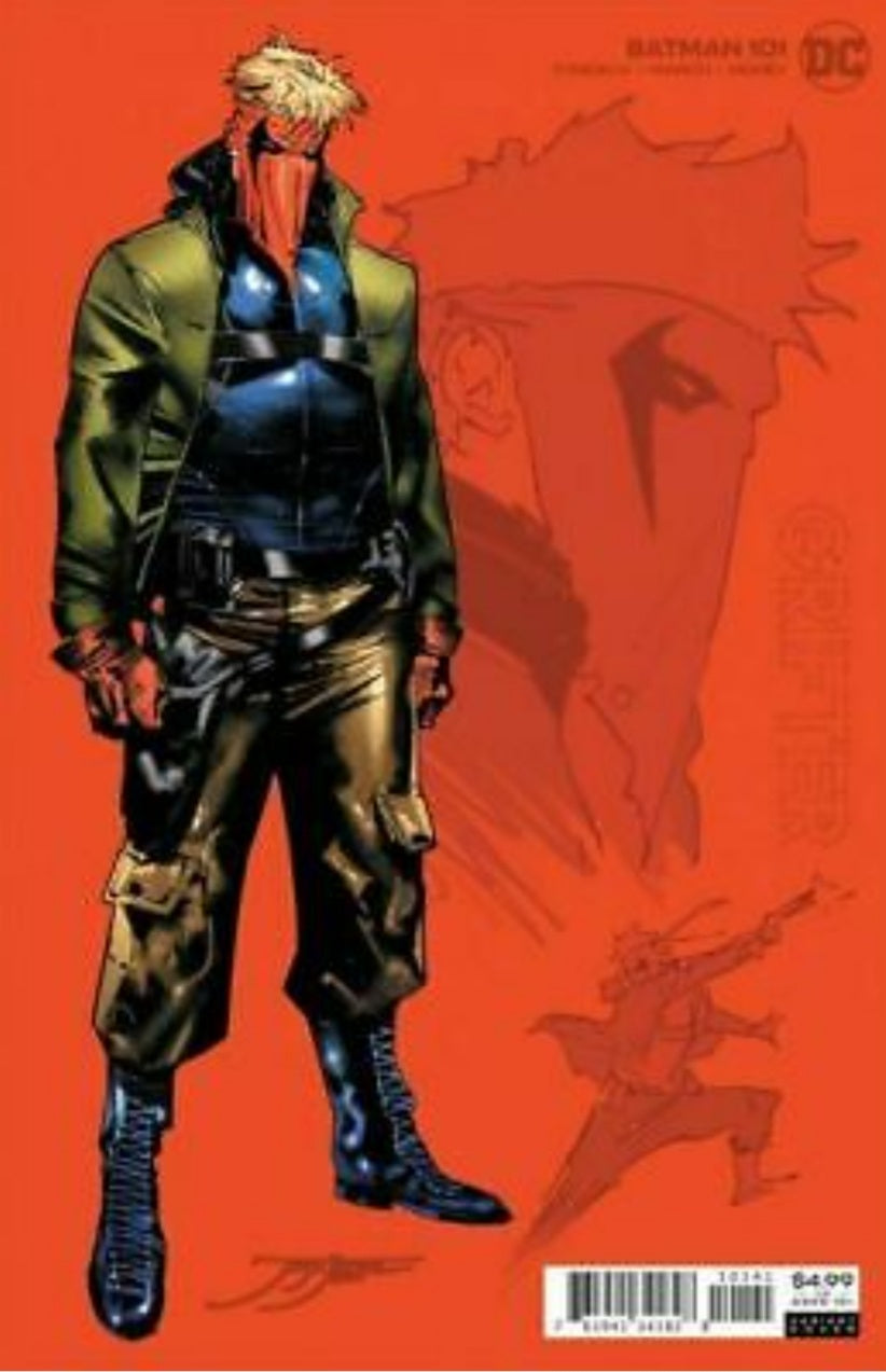 Batman #101 Jorge Jimenez 1:25 Grifter Design Card Stock Variant DC Comics