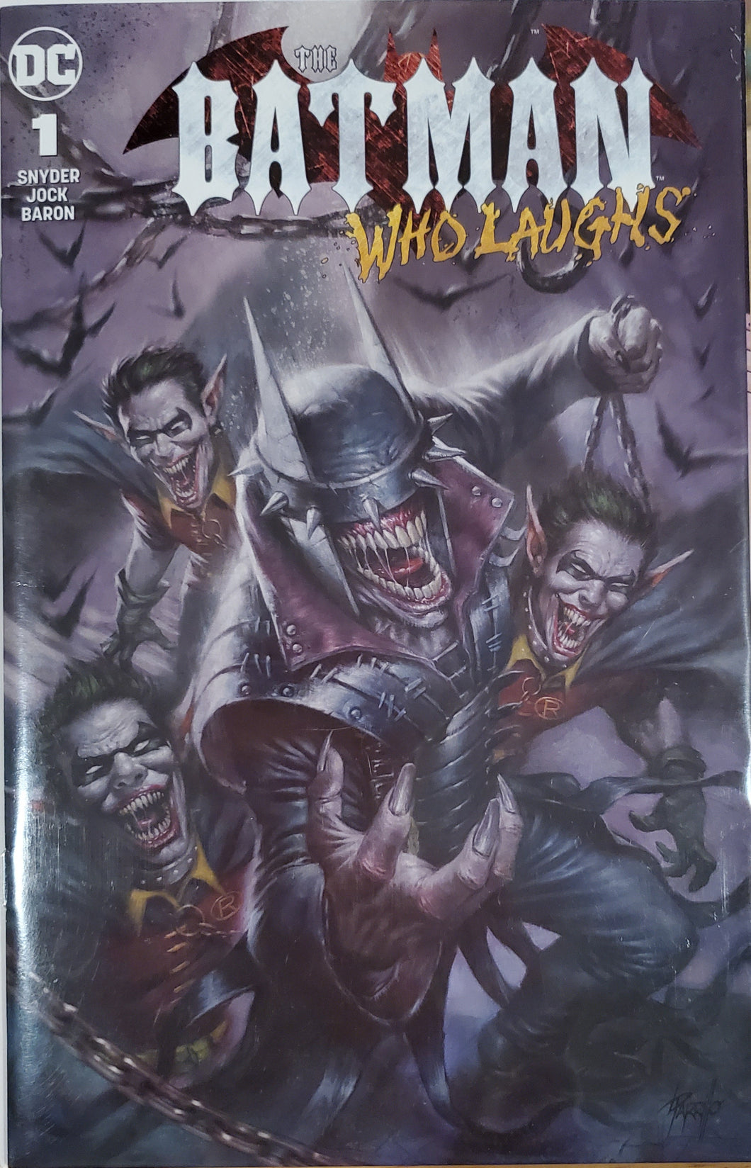 Batman Who Laughs #1 - Scorpion Comics Exclusive Variant Limited to 3000 Lucio Parrillo