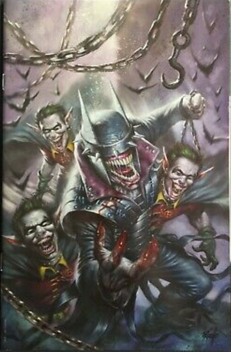 BATMAN WHO LAUGHS 1 LUCIO PARILLO VIRGIN SCORPION COMICS EXC DC COMICS VARIANT