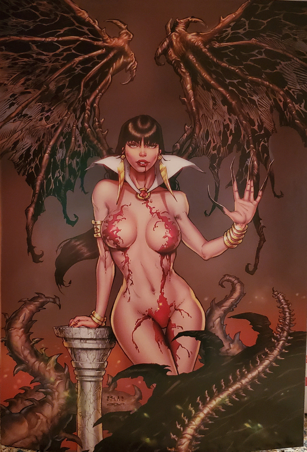 VAMPIRELLA # 15 Virgin  Limited 500 Comics Elite