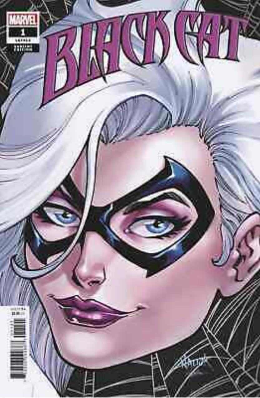 BLACK CAT 1 vol 2 TODD NAUCK HEADSHOT VARIANT NM KING IN BLACK