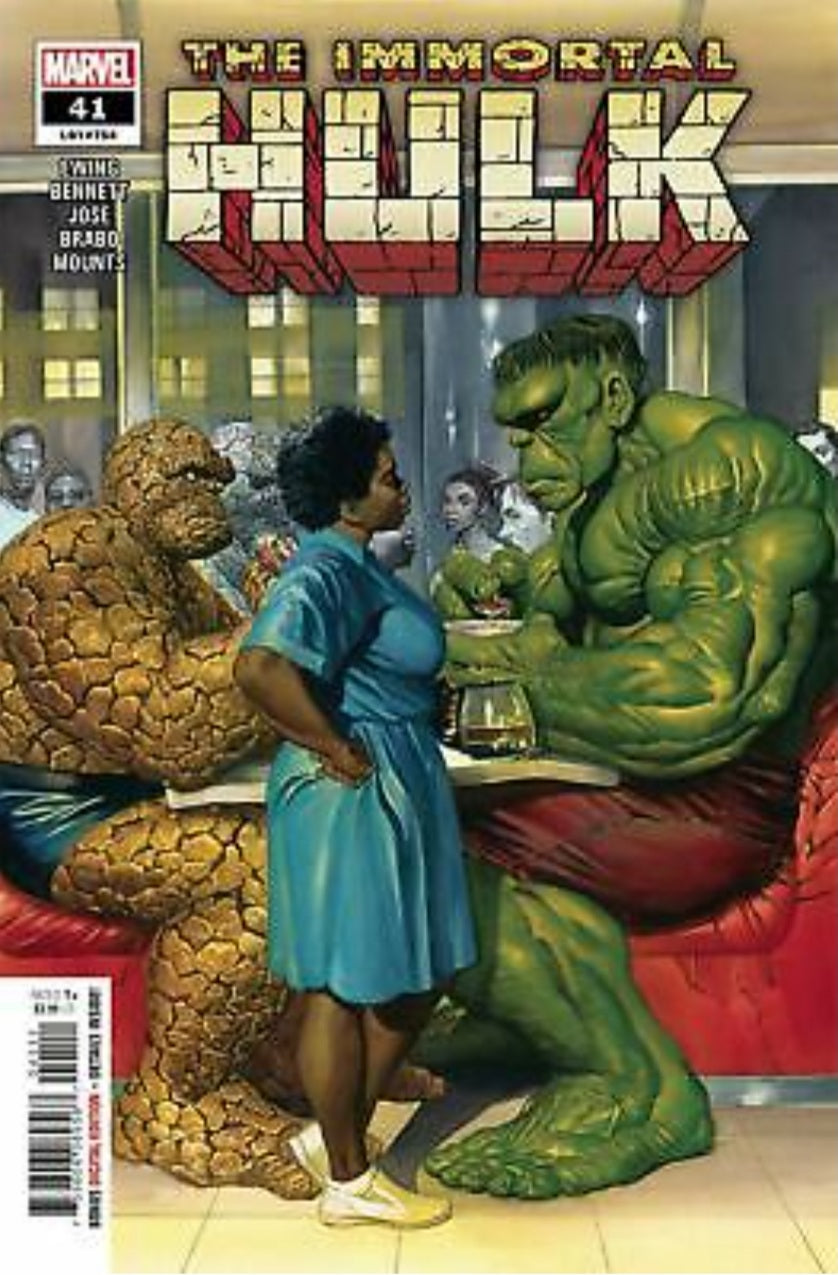 IMMORTAL HULK #41 CVR A ALEX ROSS