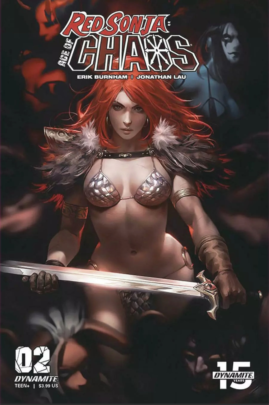 Red Sonja Age Of Chaos #2 Cover C Variant Derrick Chew Cover