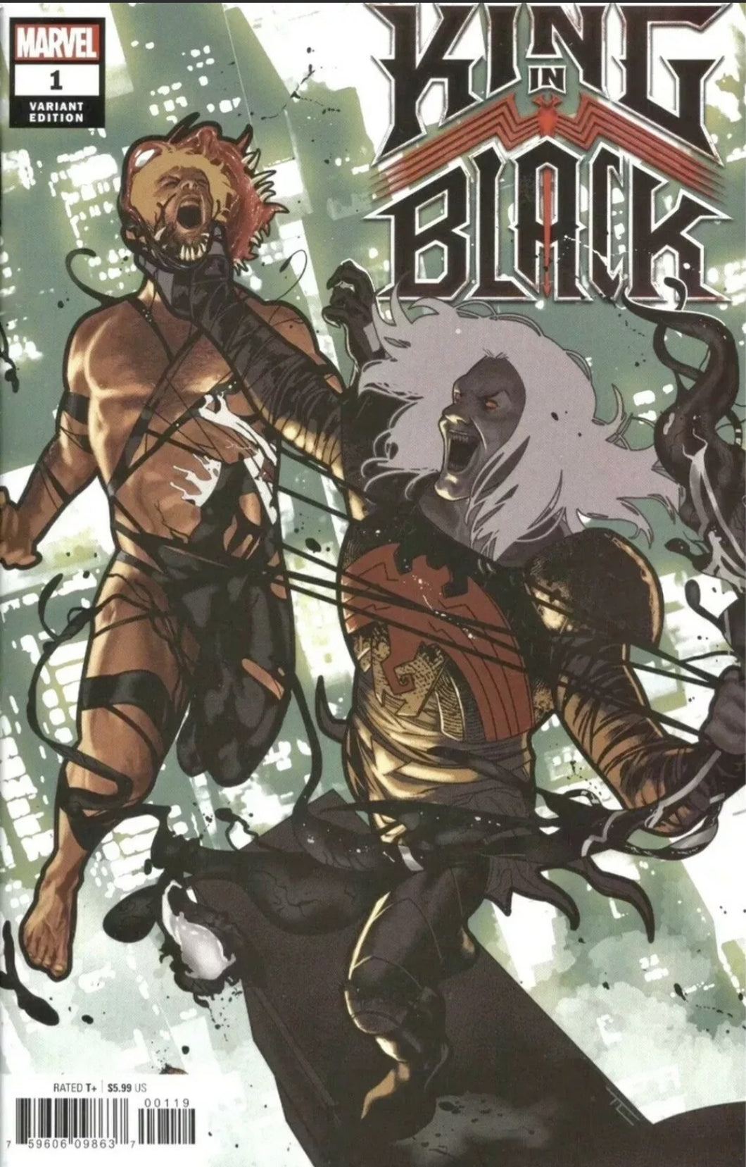 KING IN BLACK #1 Spoiler Variant Marvel NM Donny Cates