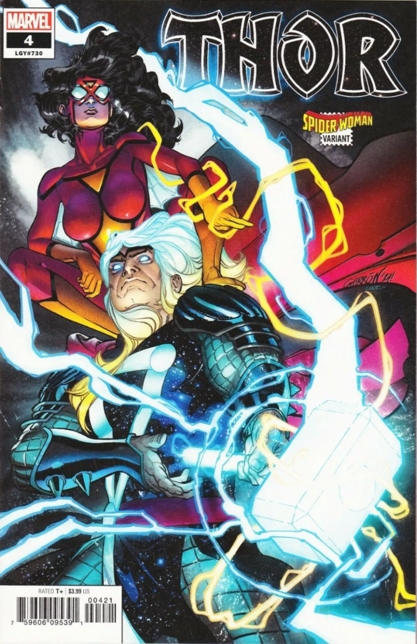 THOR #4 SPIDER-WOMAN VARIANT BLACK WINTER DONNY CATES