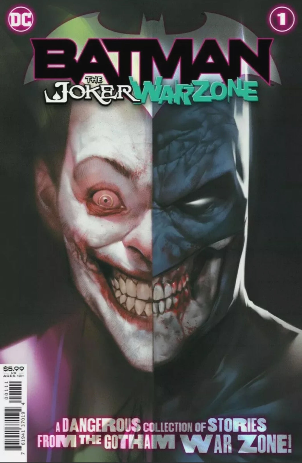 Batman the Joker War Zone #1 1st Appearance Henchmaster