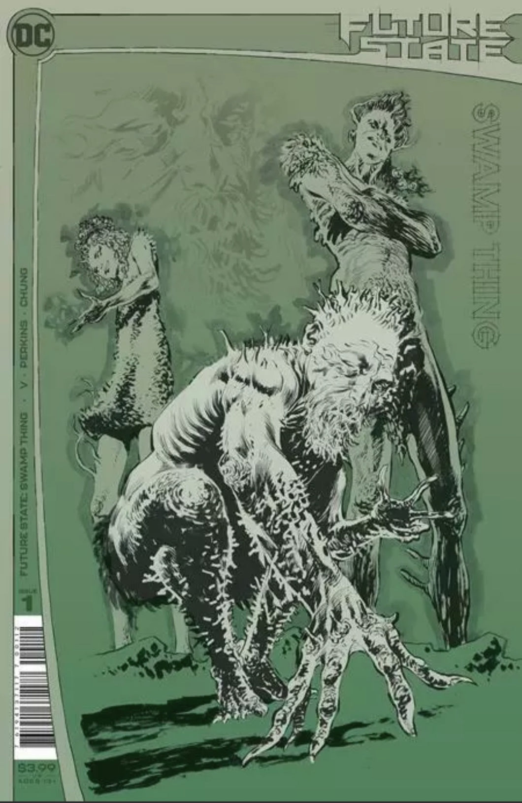 🚨🔥  FUTURE STATE SWAMP THING VARIANT 2nd Print