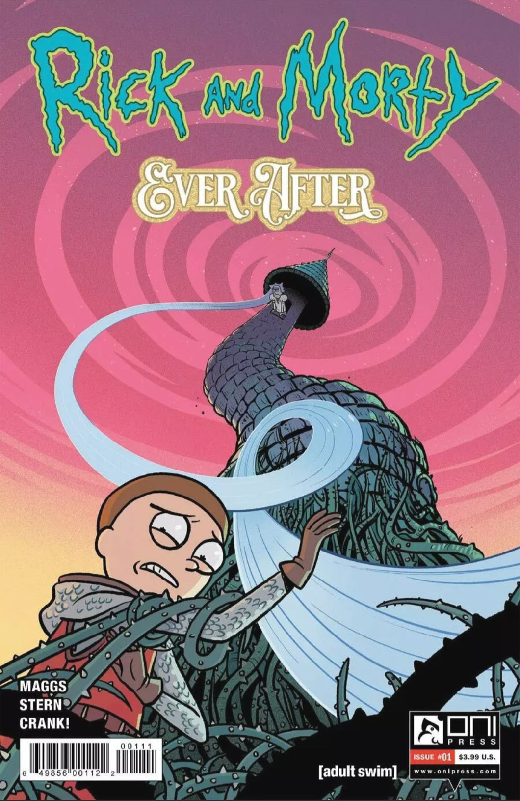 🔥 RICK AND MORTY EVER AFTER #1  CVR A ONI PRESS