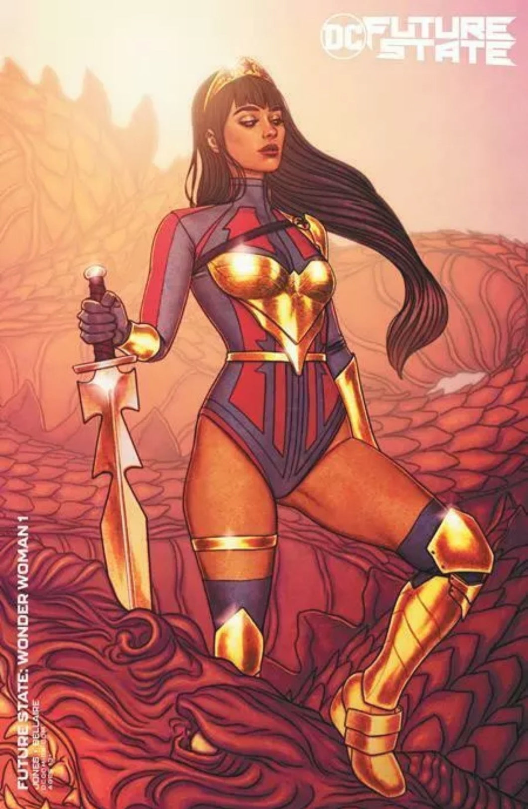 🔥 Future State: Wonder Woman #1 Jenny Frison Variant Cover