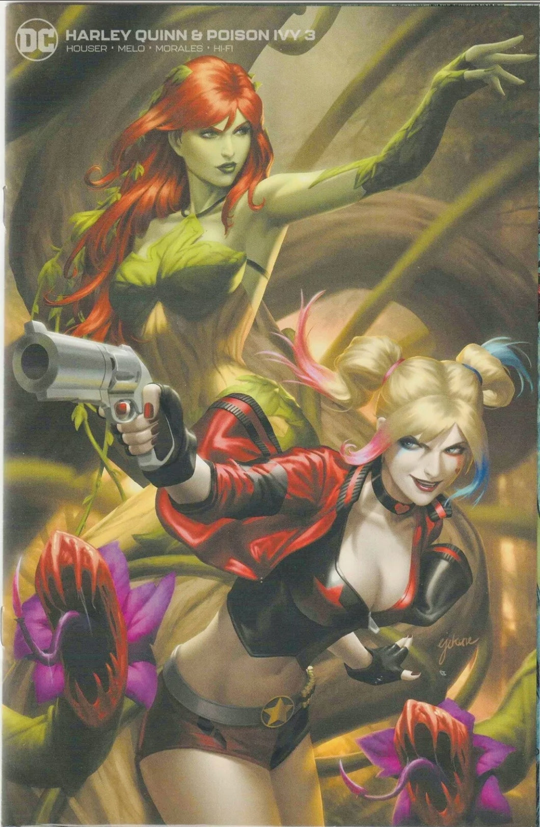 🔥🔥 Harley Quinn And Poison Ivy 3 Minimal Trade Dress Variant Limited to 750