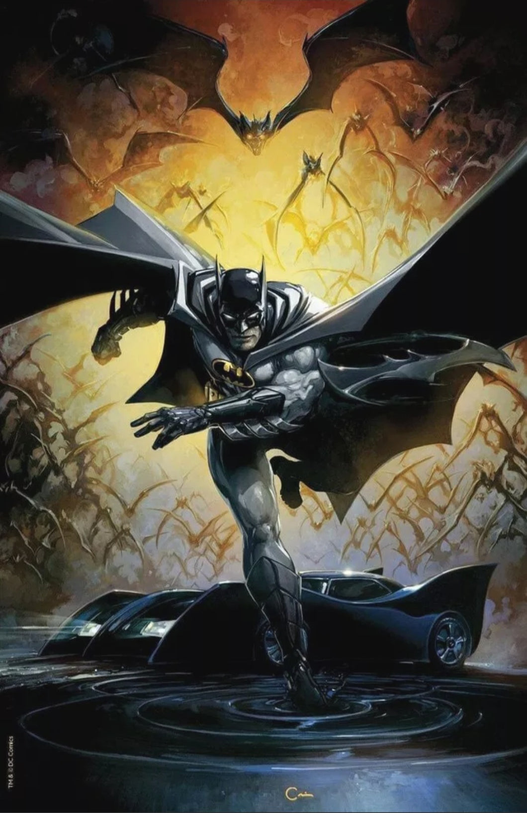 Detective Comics #1000 - Exclusive Virgin Variant Cover by Clayton Crain