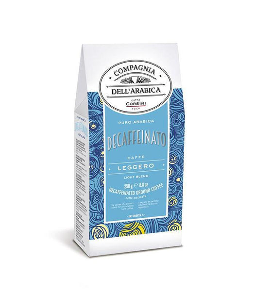 Cafea Macinata Corsini Decaffeinato Light Blend 250g