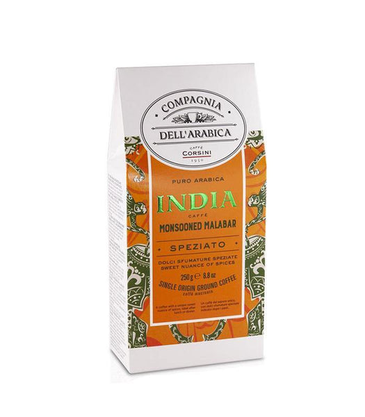 Cafea Macinata Corsini India Monsooned Malabar 250g