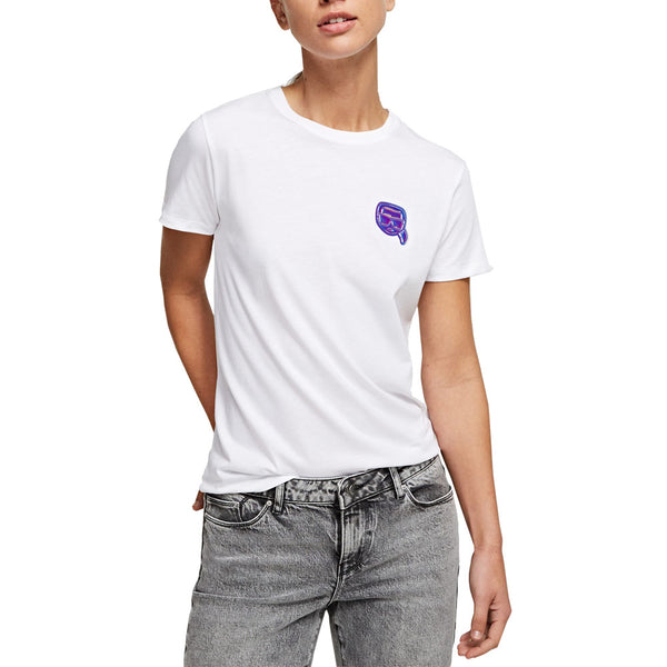 Mini Ikonik Karl Balloon T-Shirt White Wom