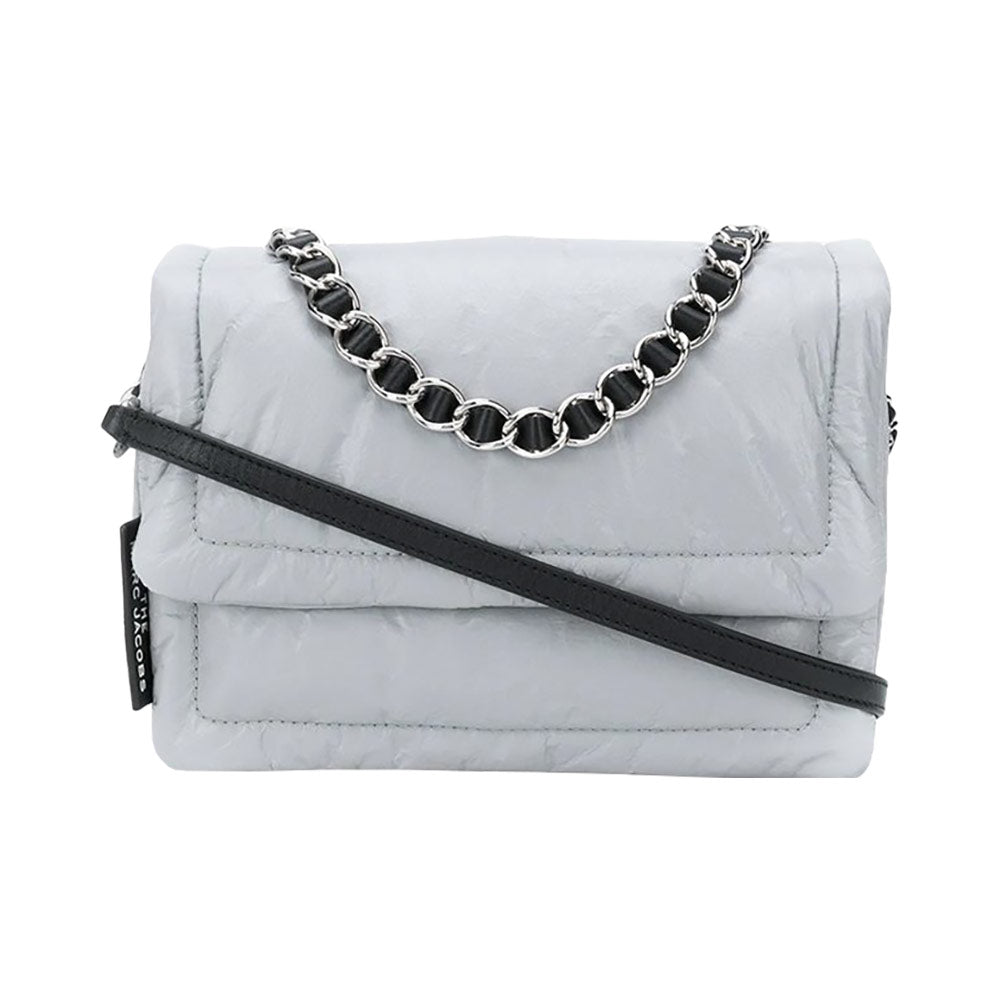 The Pillow Shoulder Bag Purple Grey