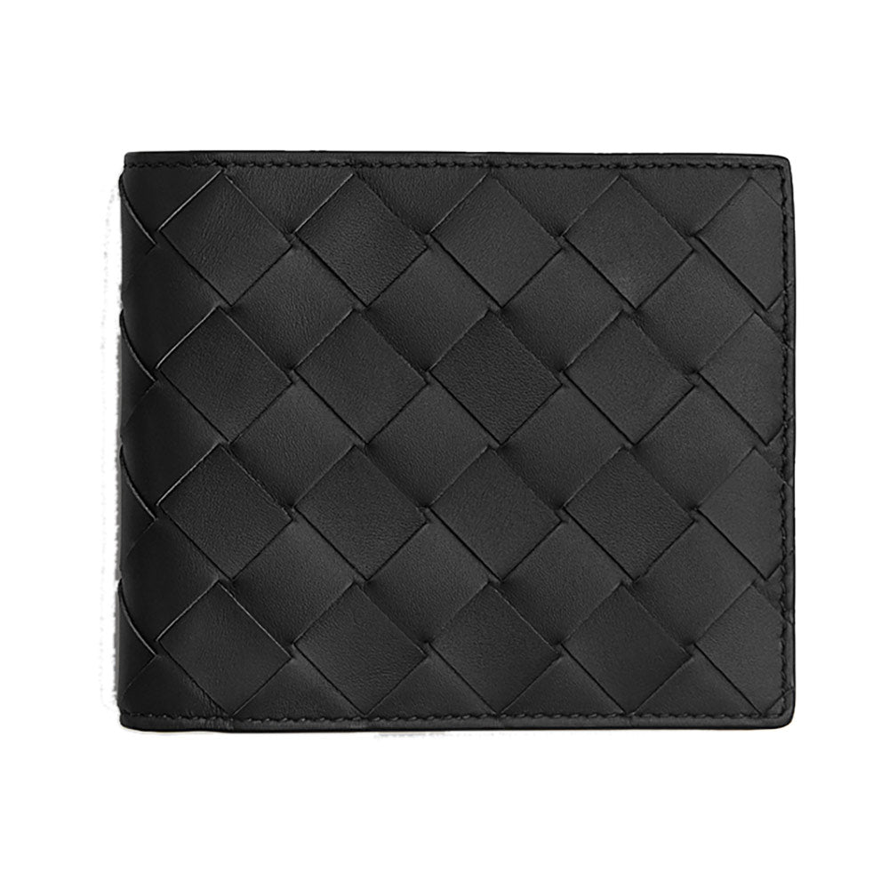 Bifold Wallet 8 Cards Black