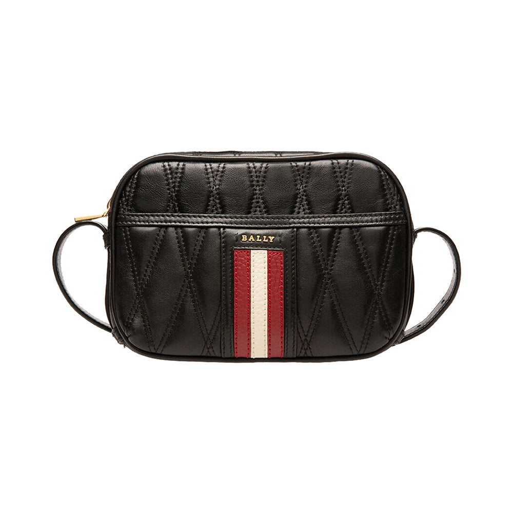 Dymo Crossbody Bag Black Embossed