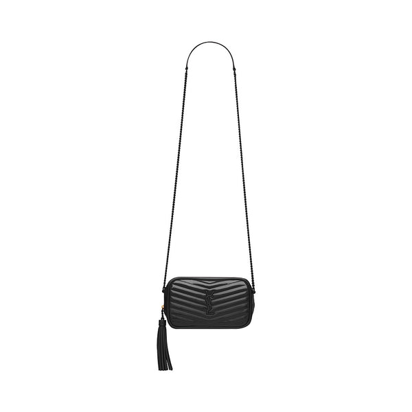 Camera Bag Black Patent
