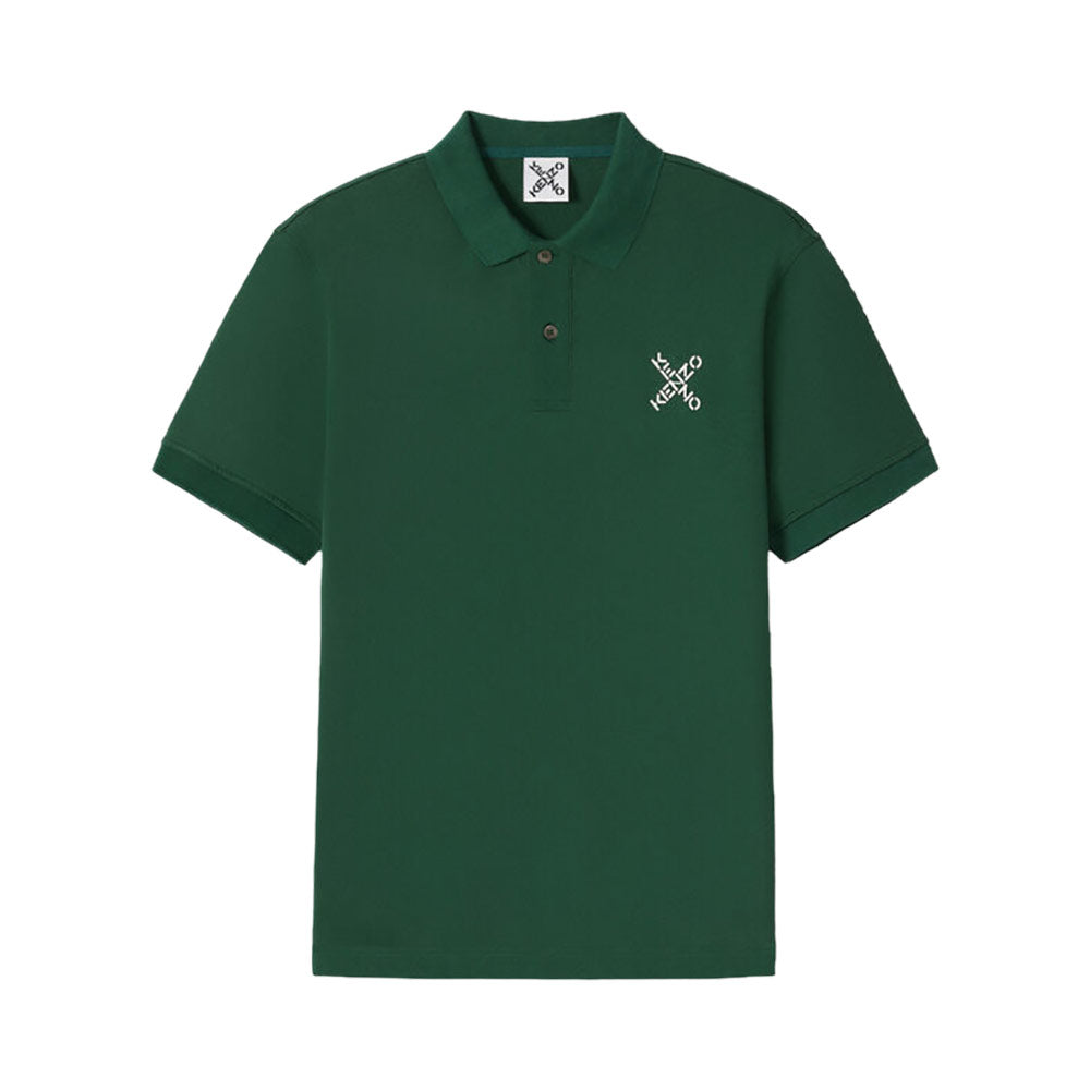 Polo Green Logo Cross