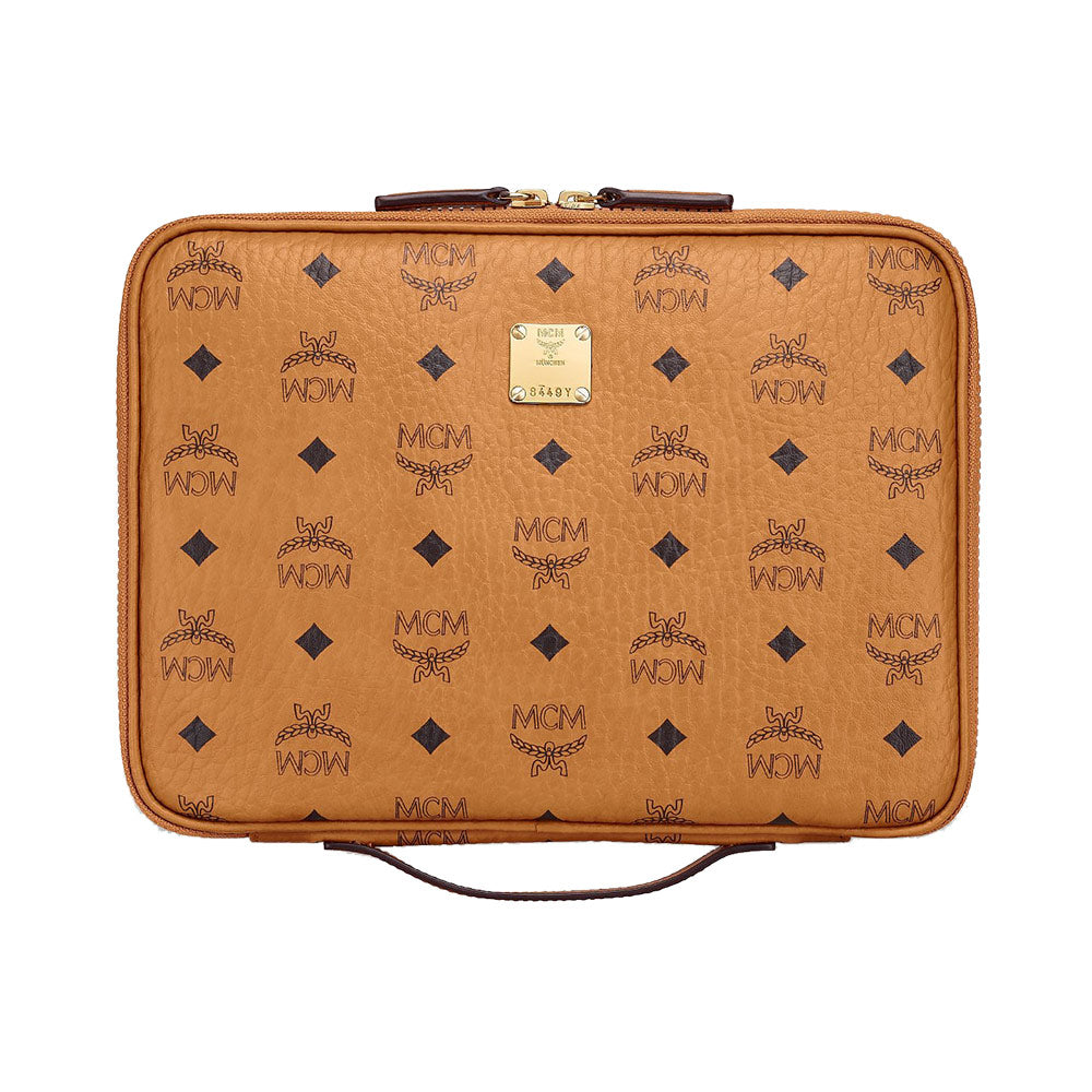 iPad Case in Visetos Original Small Cognac