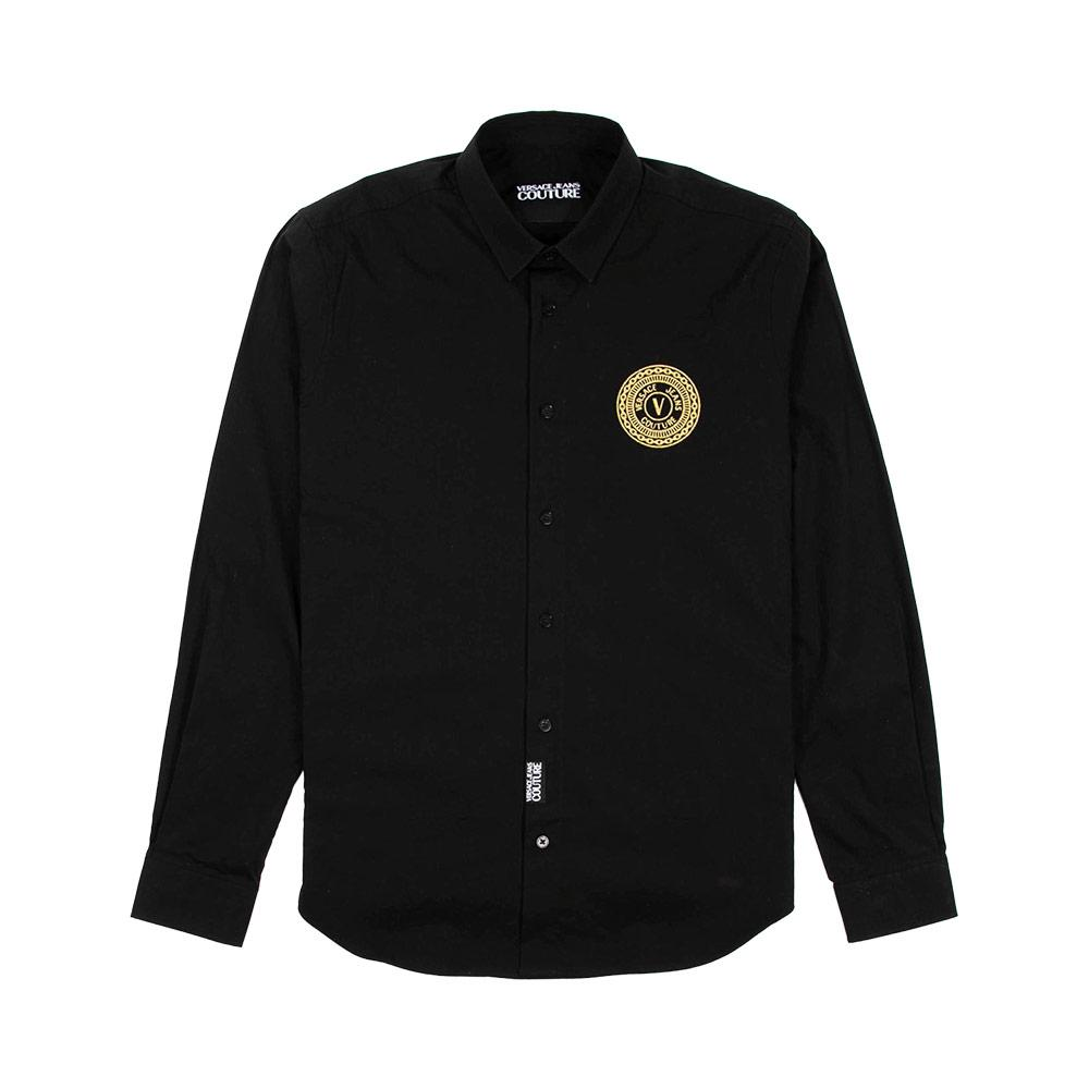 Jeans Couture Logo-Embroidered Shirt