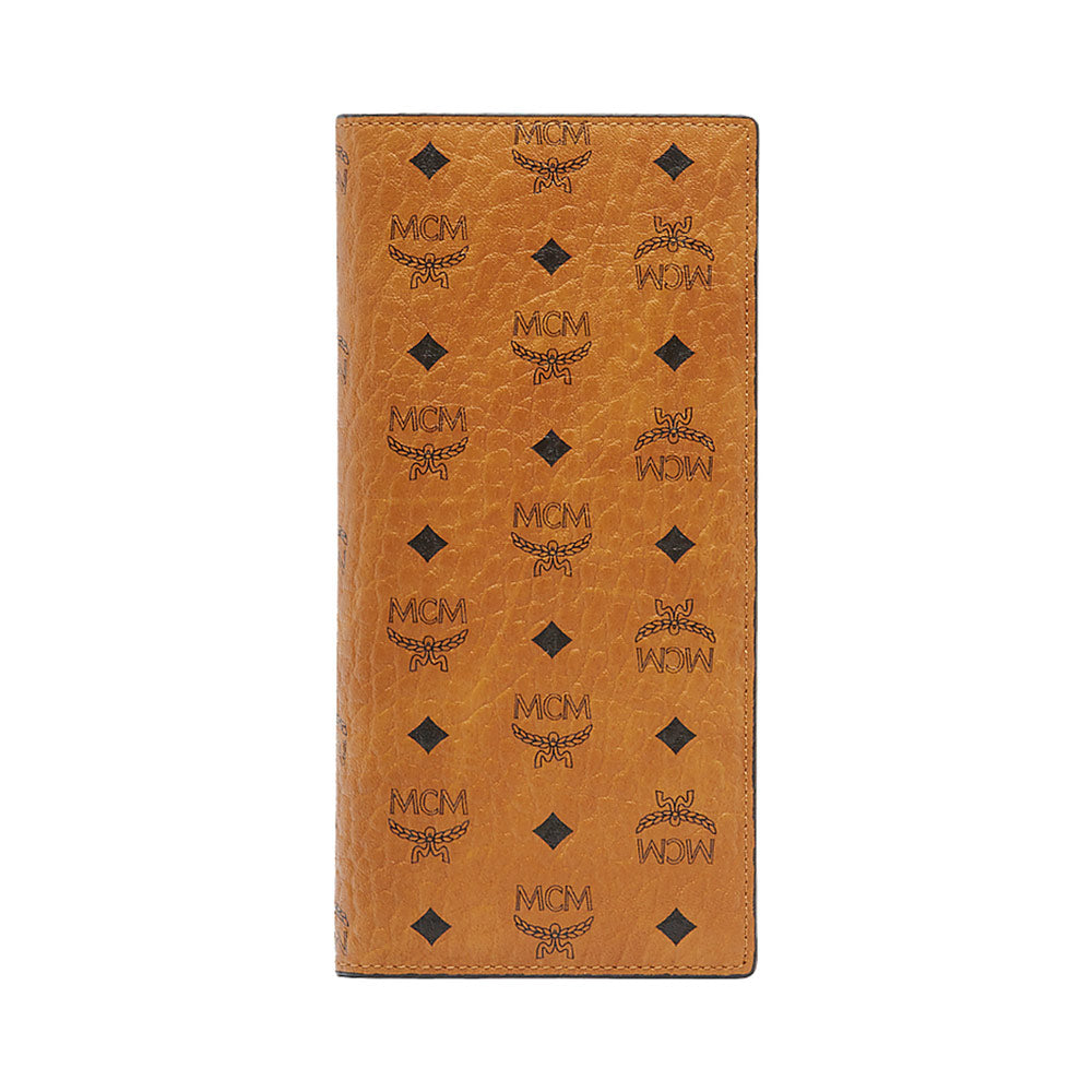 Long Wallet All Card Cognac