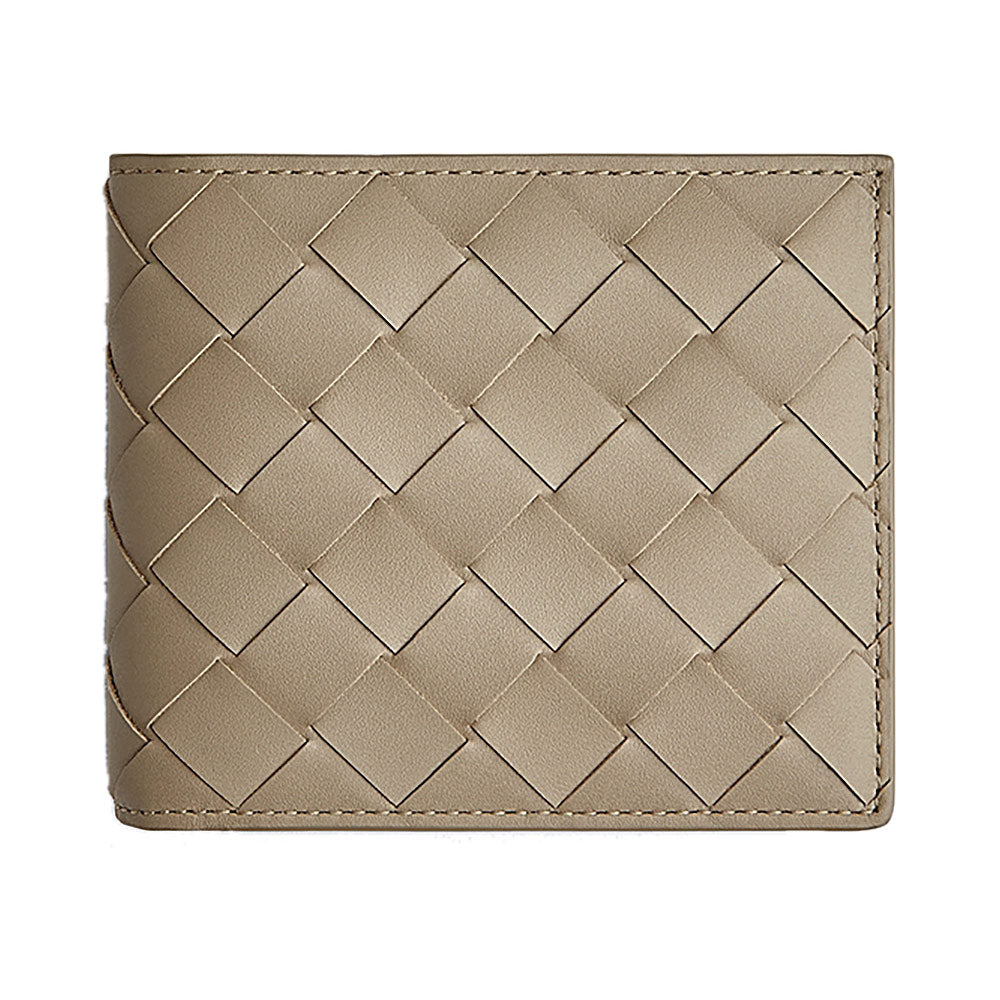 Bifold Wallet 8 Cards Taupe Shw