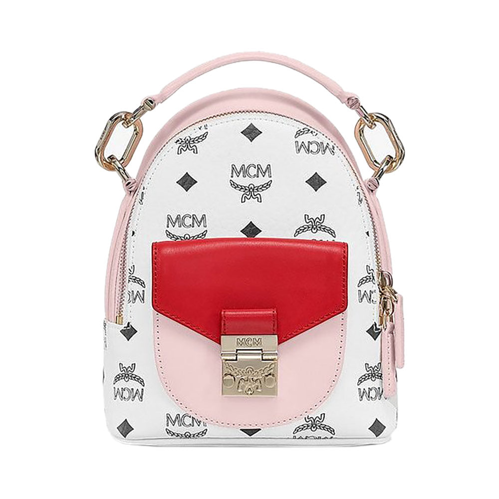 Patricia Mini Backpack Tricolor Pink
