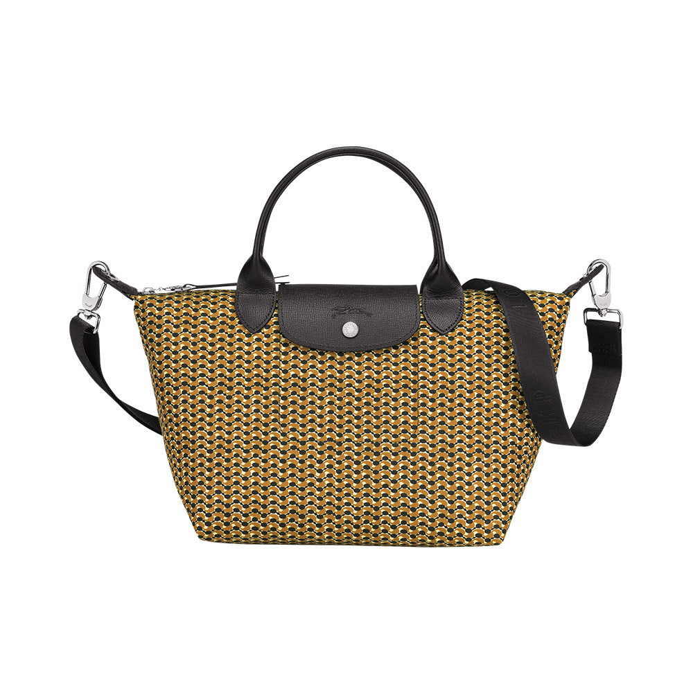 Le Pliage Microknit Canvas Top Handle Small Honey