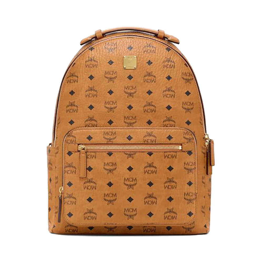 Monogram Backpack Medium Cognag
