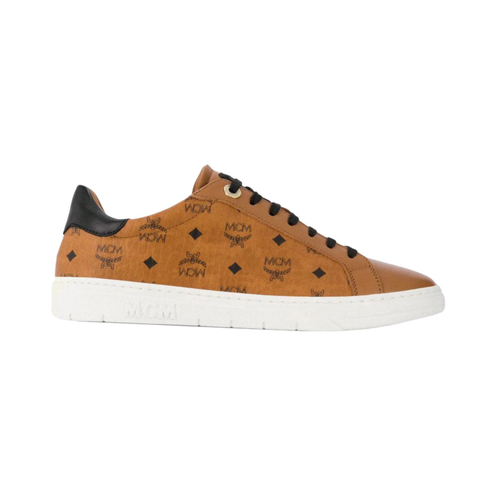 Low-Top Sneakers - Cognac