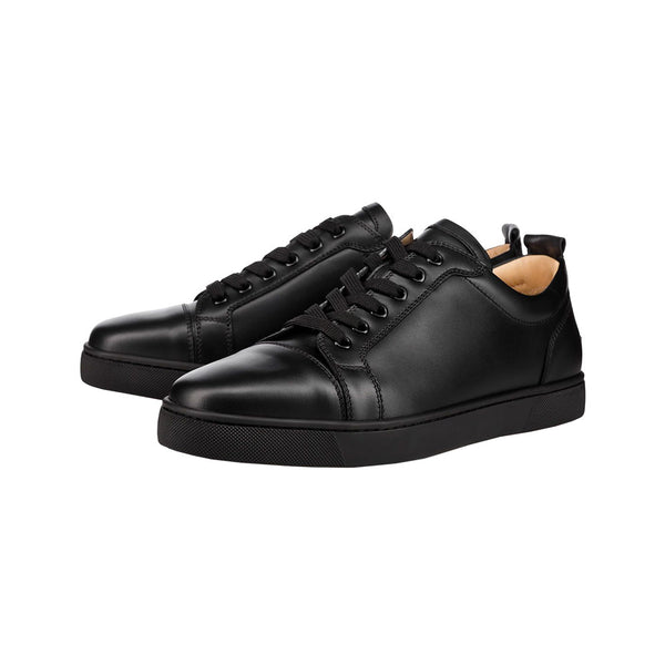 Louis Junior Leather Sneakers Man - Black