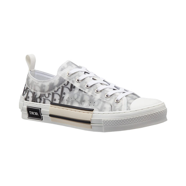 Sneakers B23 Oblique Low Top Transparency White Black