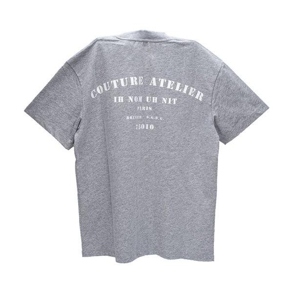 Logo-Print Cotton T-Shirt Grey