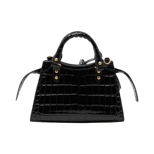 Neo Classic Mini City Croco Black