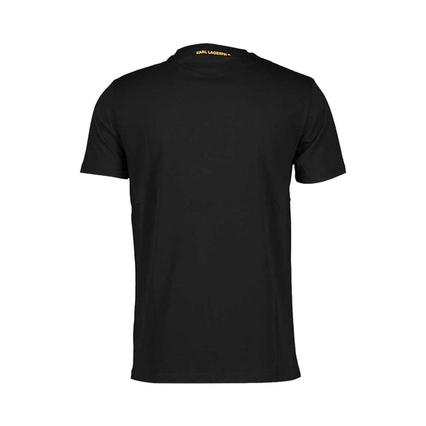 T-Shirt Ikonik Orange Outline - Black Man