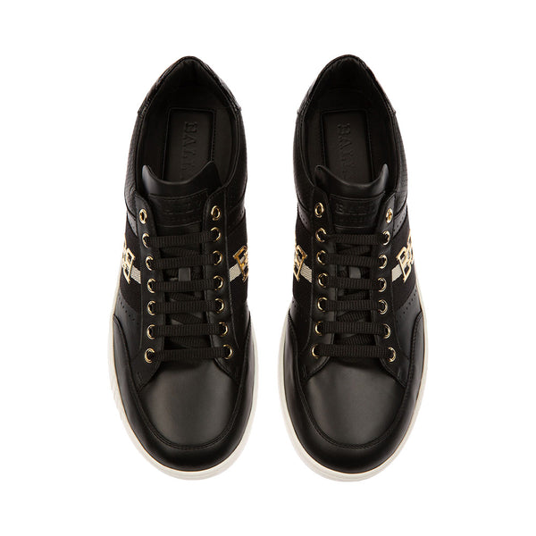 Winton Leather Sneakers Black