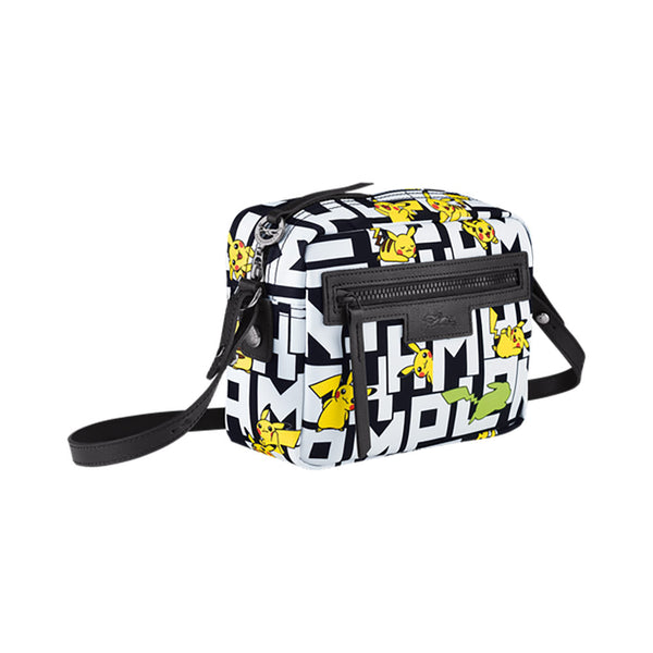 Le Pliage Pokémon Crossbody Bag Black/White