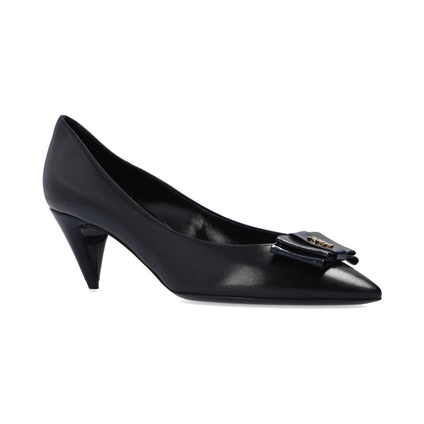 Anais Bow Pumps Black Navy Ghw