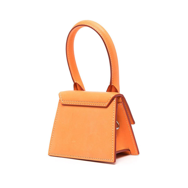 Le Chiquito Homme Mini Leather Bag Orange