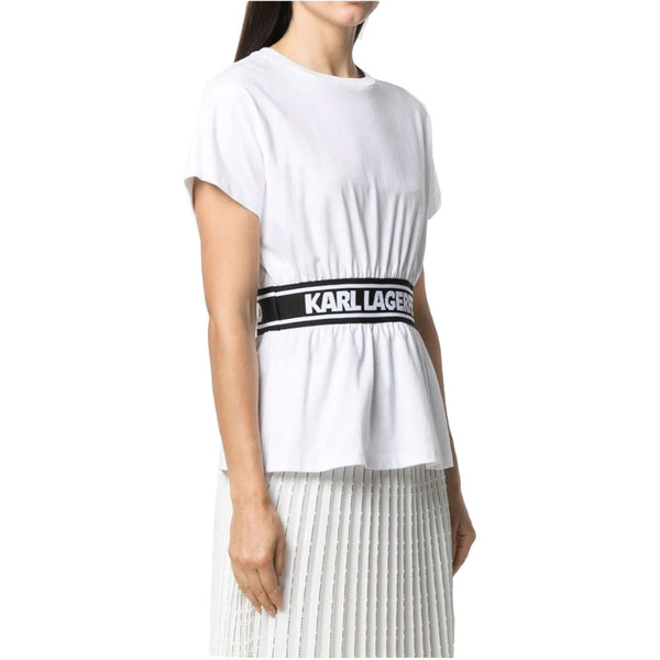 Logo Tape Top White