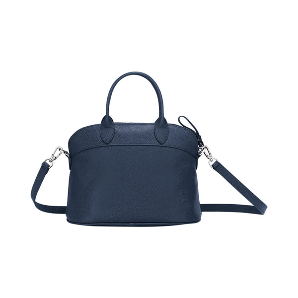 Le Foulonne Top Handle Small Navy